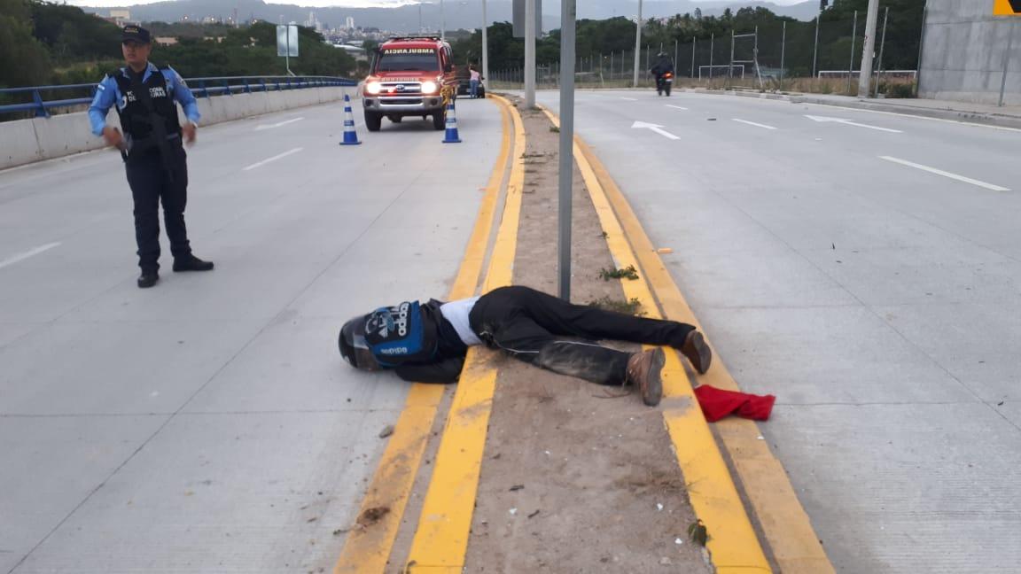 Fallece motociclista
