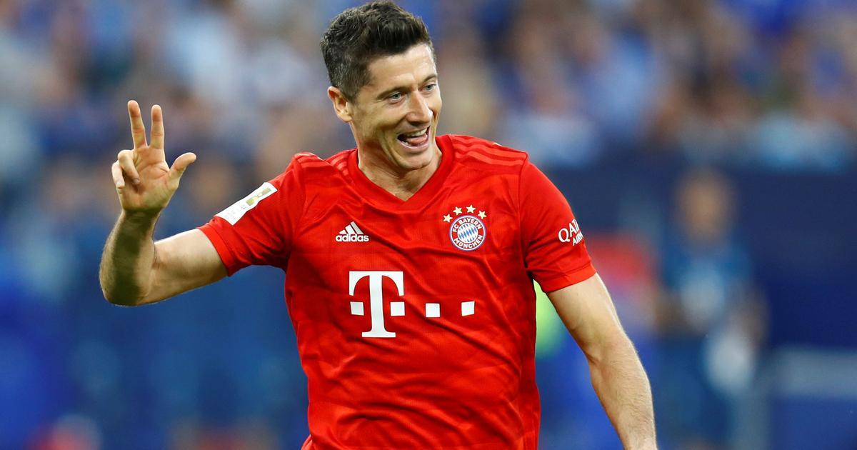 Bayern ata a Lewandowski