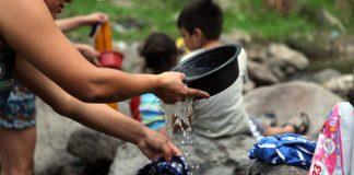 Crisis agua en la capital