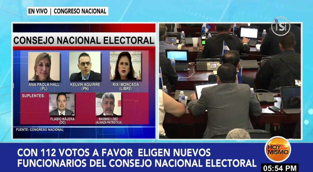 Electas autoridades de nuevos órganos electorales