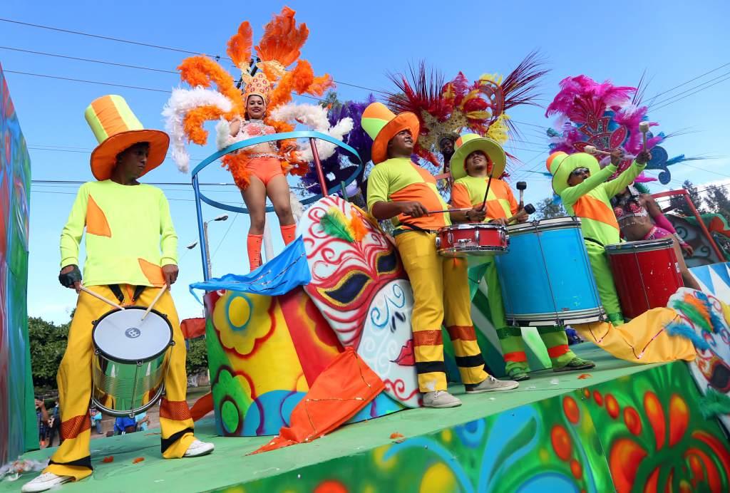 Más de 40 carrozas participarán en el carnaval de Tegucigalpa