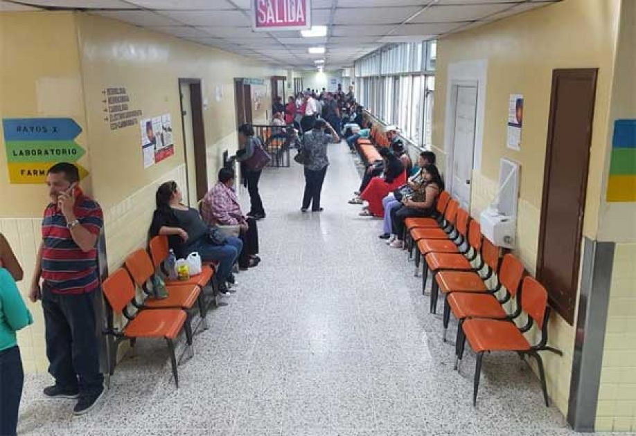 Atención médica hospitales Honduras