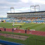 Promueven la paz en estadio de fútbol