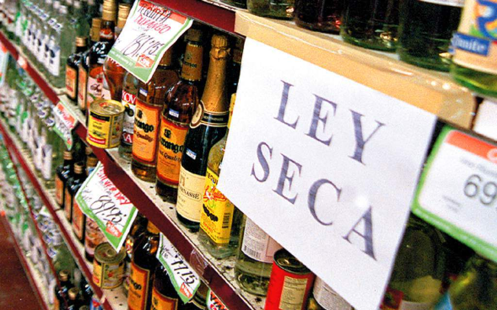 No se permitirá el consumo de bebidas alcohólicas
