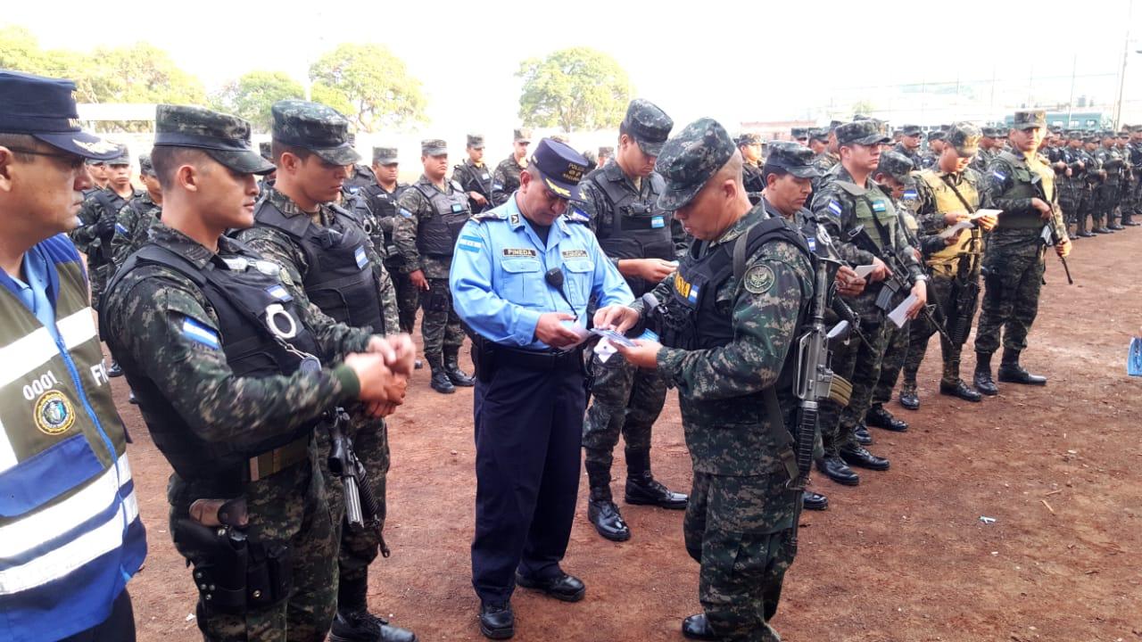 Operativo morazanico en Honduras 2019