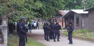 Operativos en Honduras