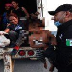 Rescatados migrantes en México