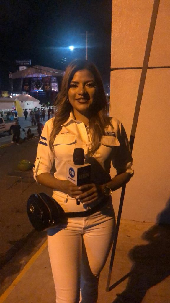 Nuestra periodista Saraí Espinal