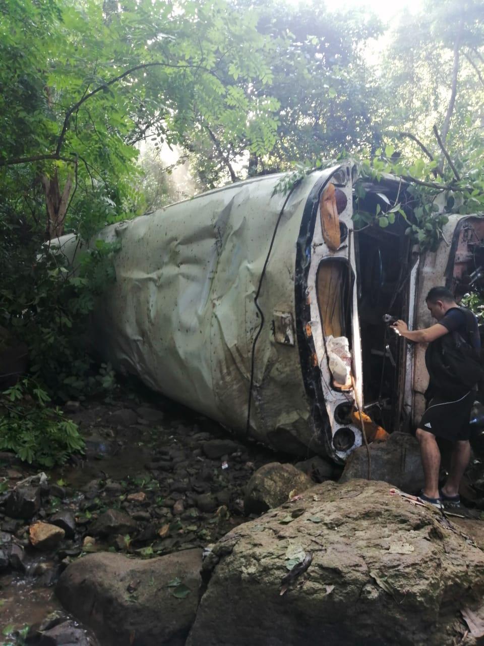 Accidente de tránsito se registra en El Corpus