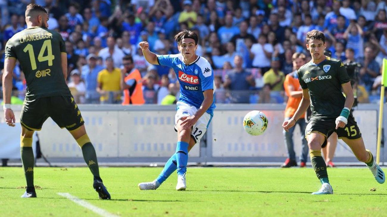 Nápoles ganó al Brescia