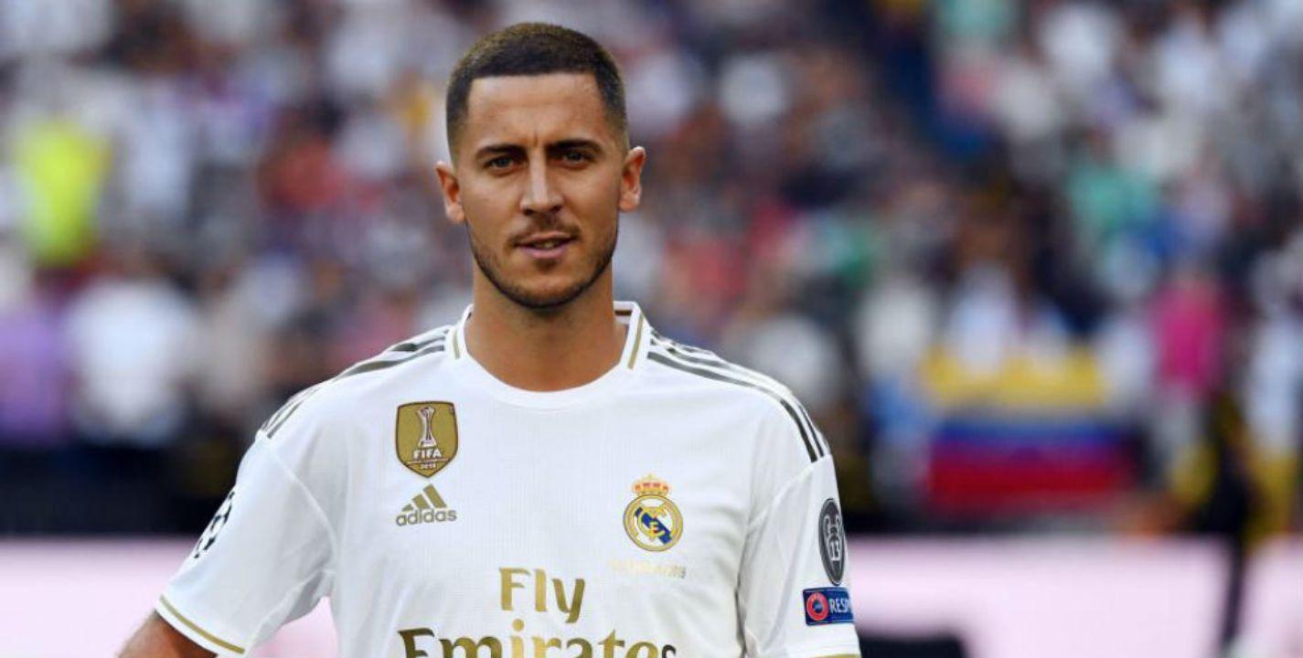 Hazard reconoce que está en deuda con el Madrid