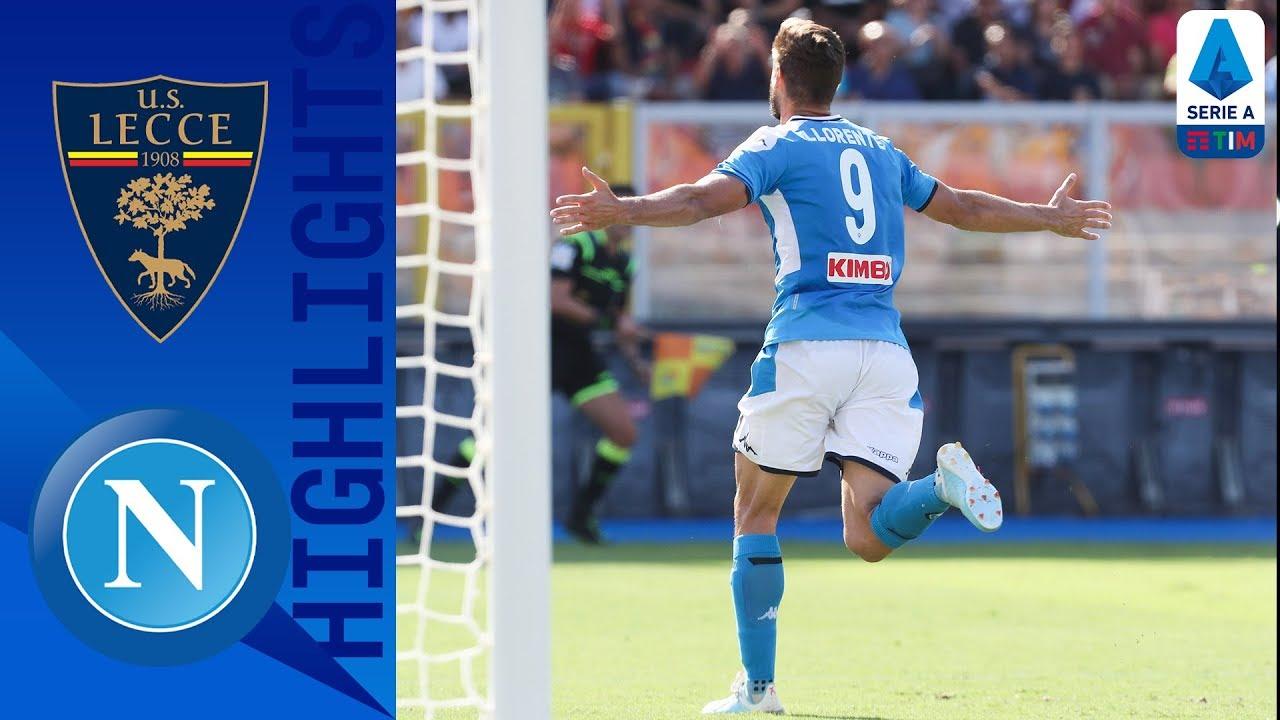 Lecce perdió con Nápoles