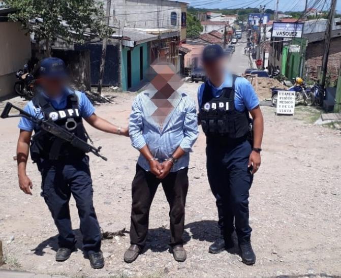 Por asesinato capturan a Sexagenario en  Olancho, Honduras