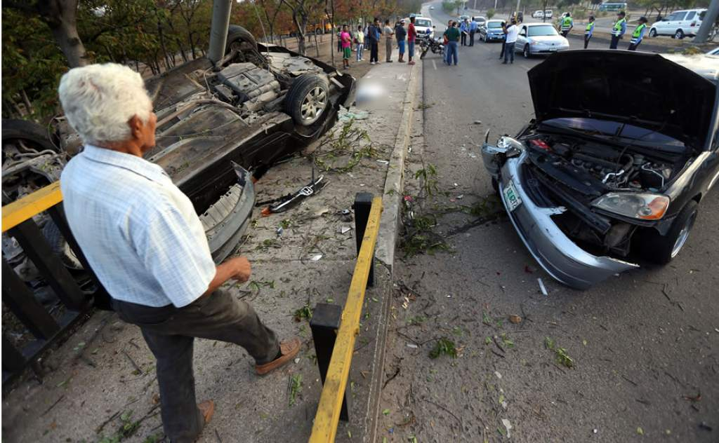 Unas 5 personas mueren a diario por accidentes de tránsito, según la DNVT