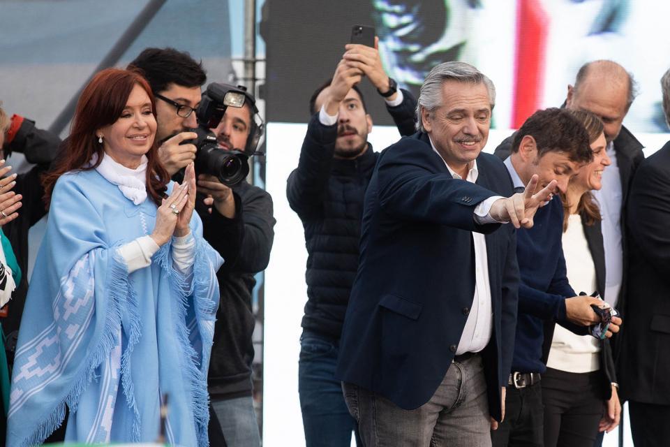 Nuevo presidente de Argentina