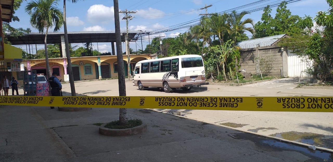 Tras una persecución policial arrestan a tres hombre en San Pedro Sula
