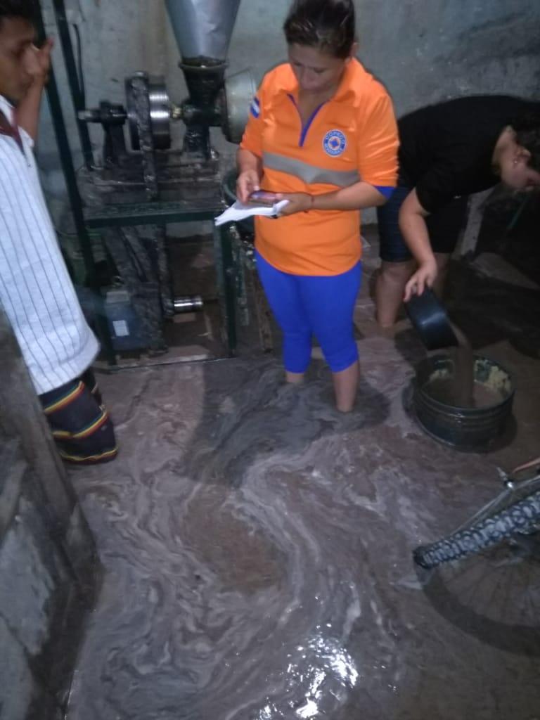 Unas 40 casas dañadas han dejado las lluvias en San Rosa de Copán