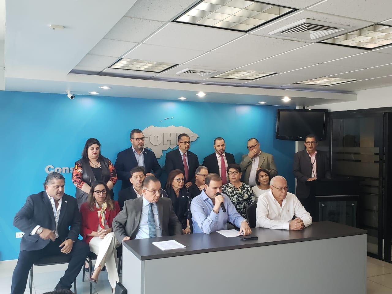 Cohep pide al Gobierno y a la Oposición dejarlos trabajar a través de un acuerdo de gobernabilidad
