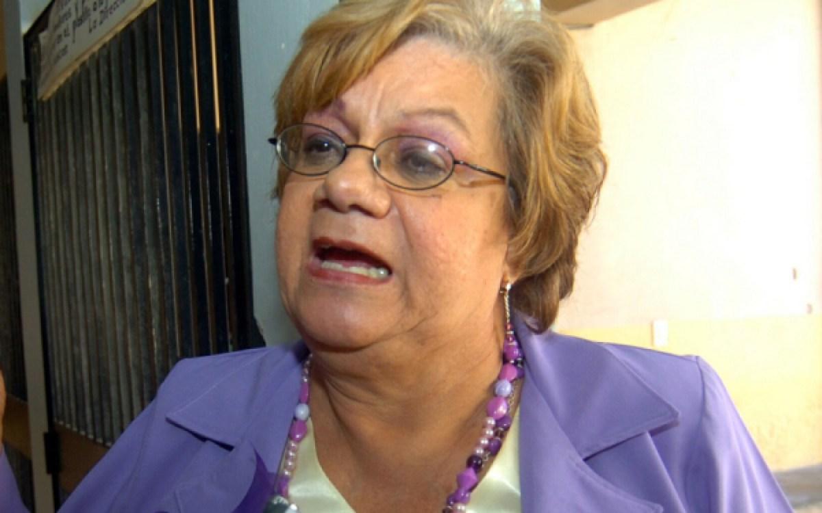 En contra de la inmunidad parlamentaria se pronuncia la diputada Doris Gutiérrez