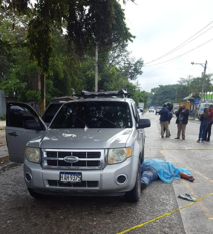 Un muerto y dos heridos dejó balacera en San Pedro Sula
