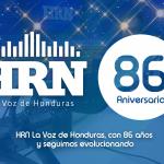 86 aniversario Radio HRN