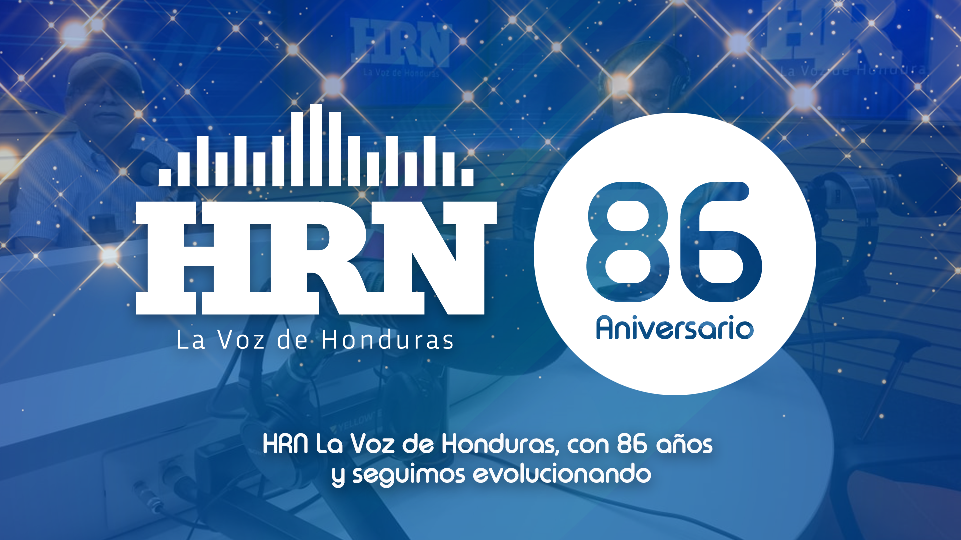 HRN celebra 86 años de informar a Honduras