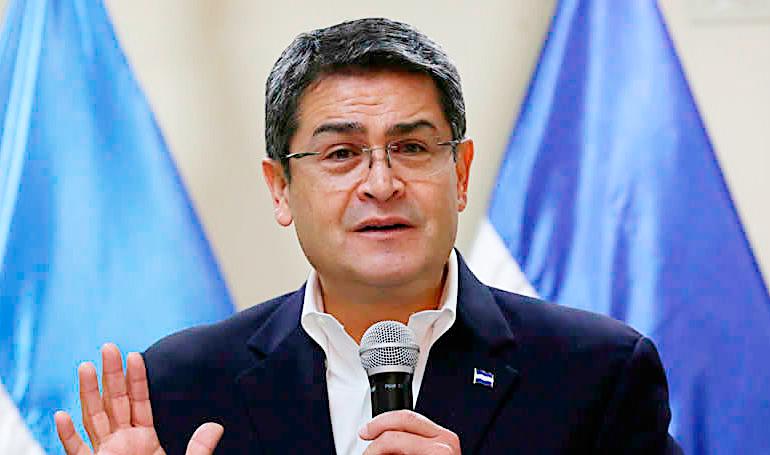 Ministerio de Seguridad resalta reconocimiento al presidente Hernández por parte de la DEA