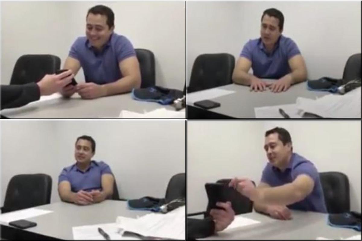 Divulgan videos del interrogatorio que le hace la DEA a Tony Hernández cuando fue detenido en Miami