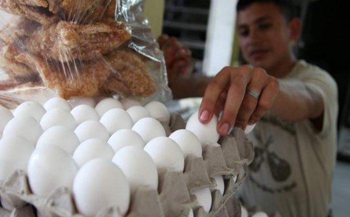 Estabilidad en el precio del cartón de huevo.