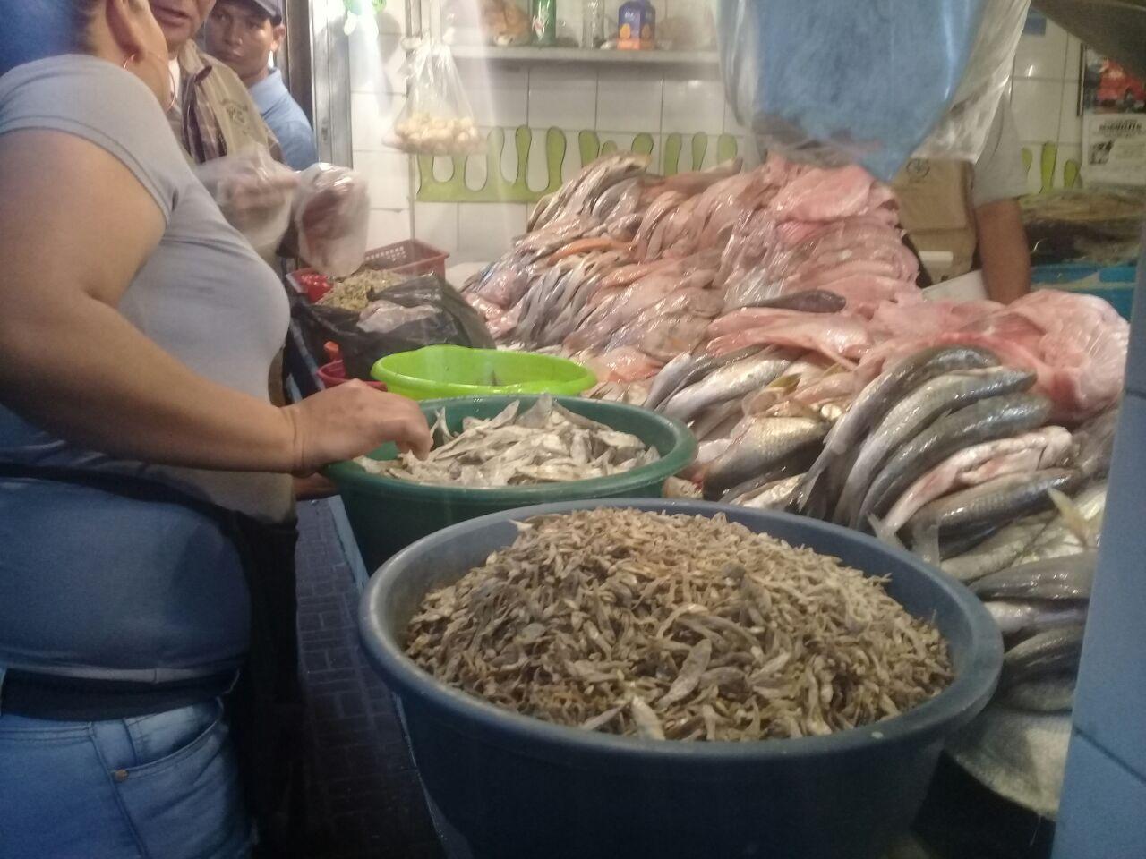 Mejoran las ventas de mariscos en la capital hondureña