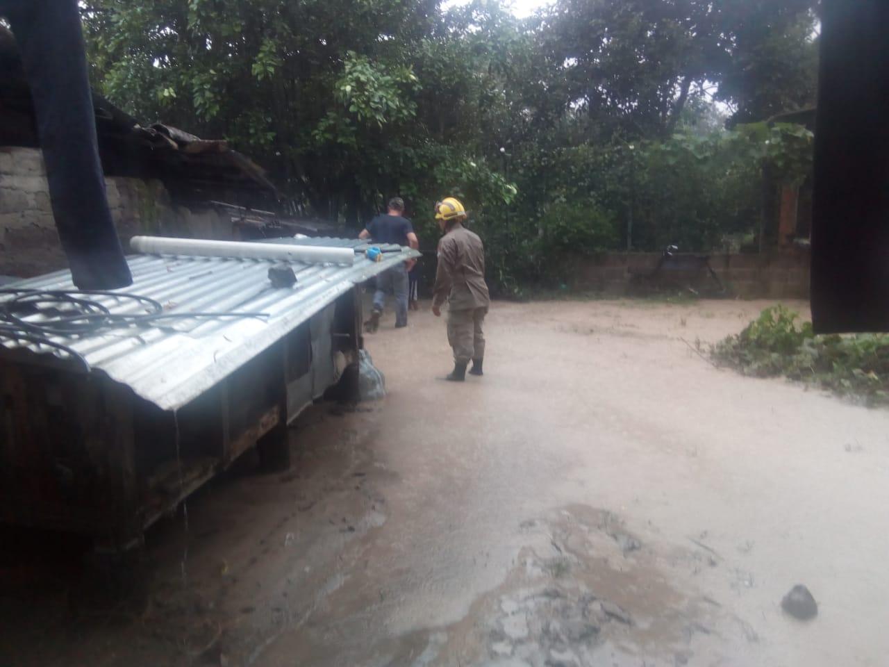 Fuertes lluvias causan destrozos en Lempira, Honduras (FOTOS)