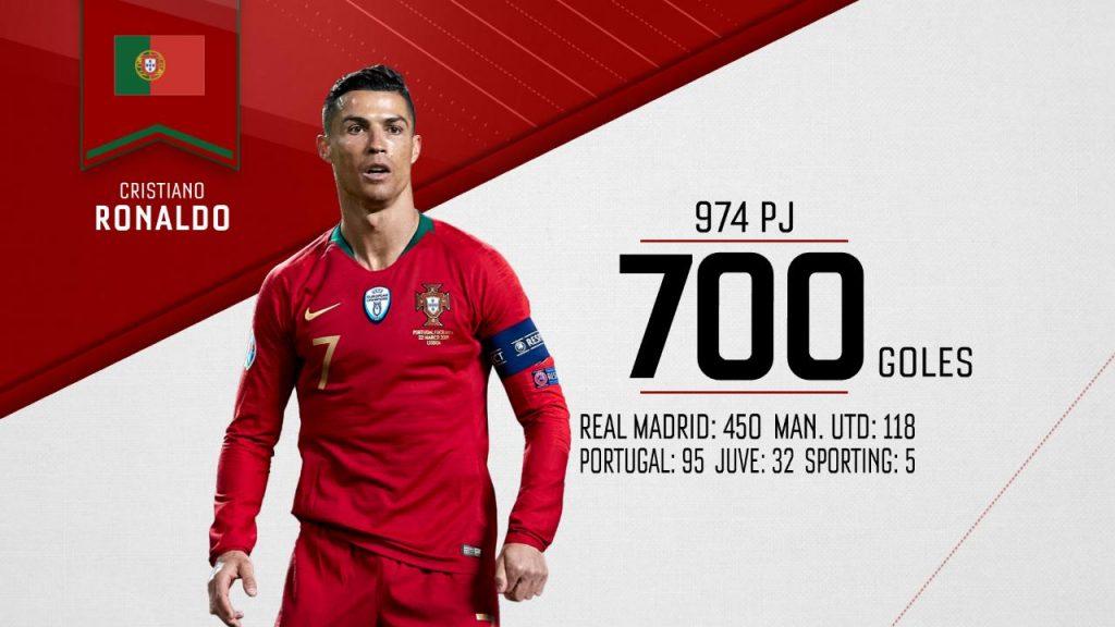 Cristiano hizo historia con Portugal