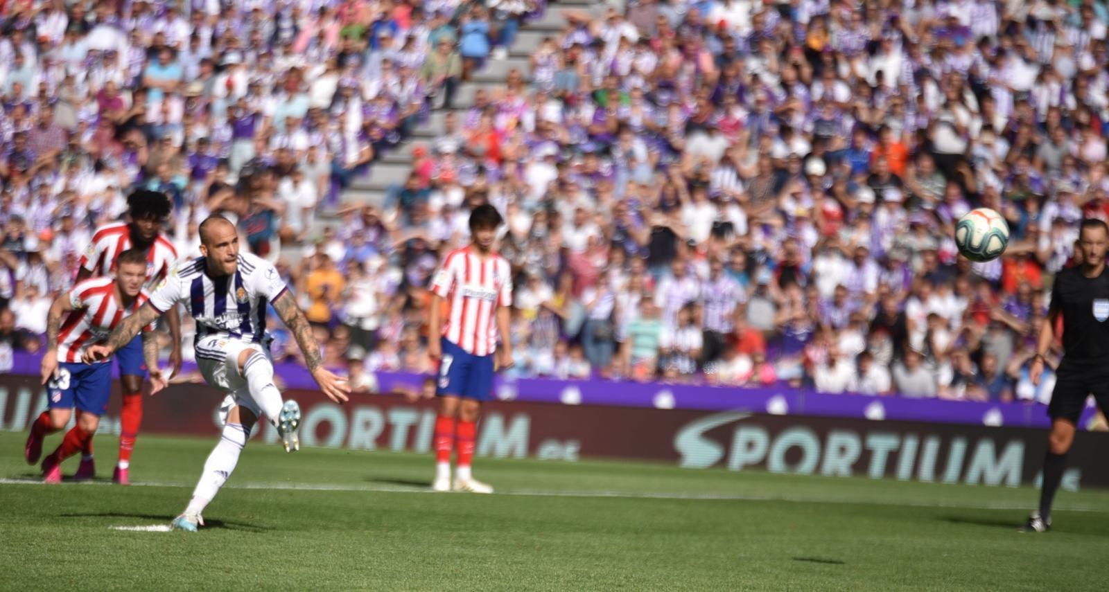 Valladolid igualó con el Atlético