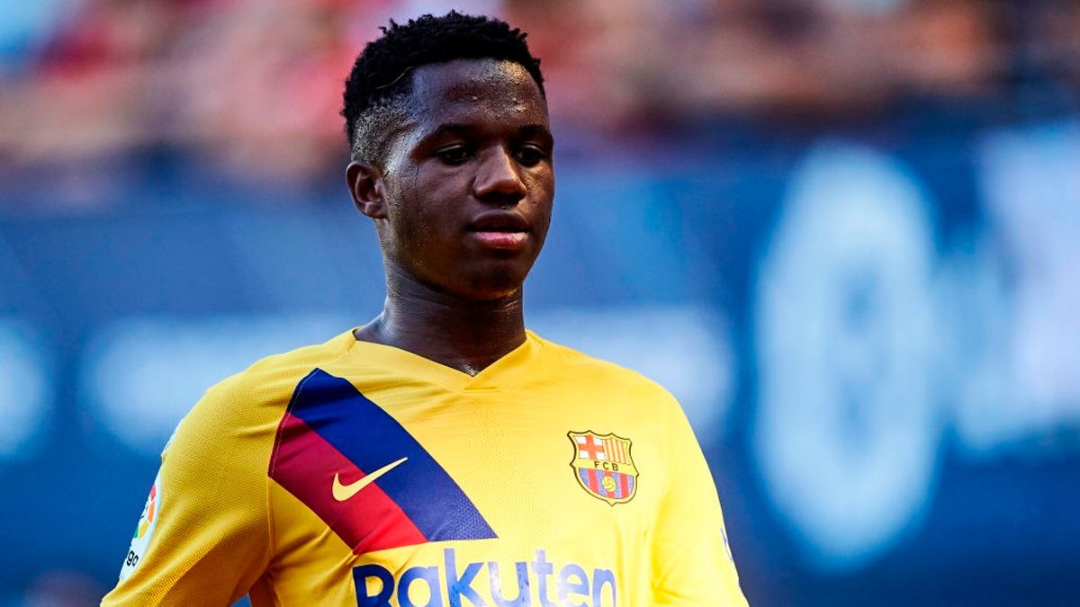 El Barça quiere asegurar la continuidad de Fati