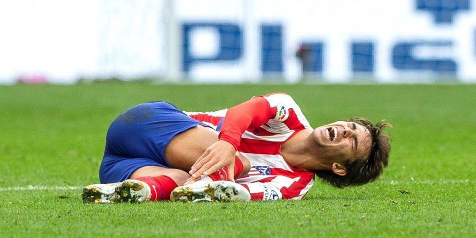Atlético pierde a Joao Félix