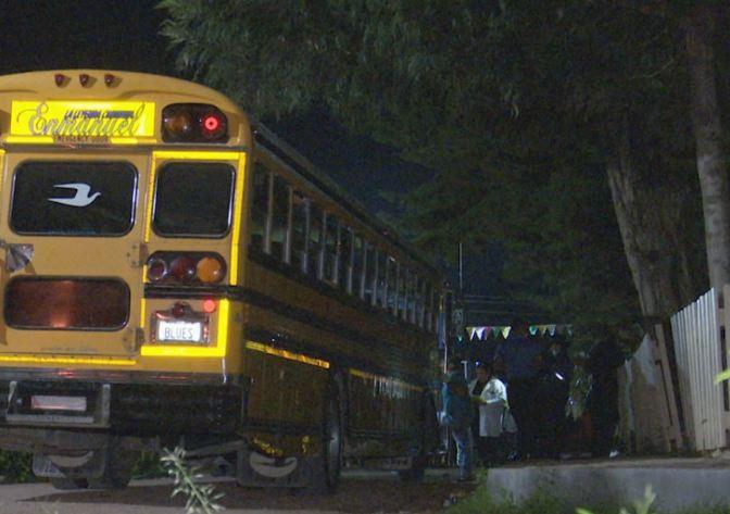 Falsos pasajeros asesinan a cobrador de bus en Lepaterique, Francisco Morazán
