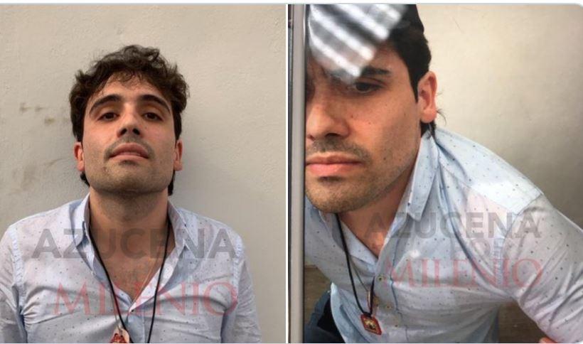 Revelan las fotografías que acreditan la detención de Ovidio Guzmán, hijo de ElChapo