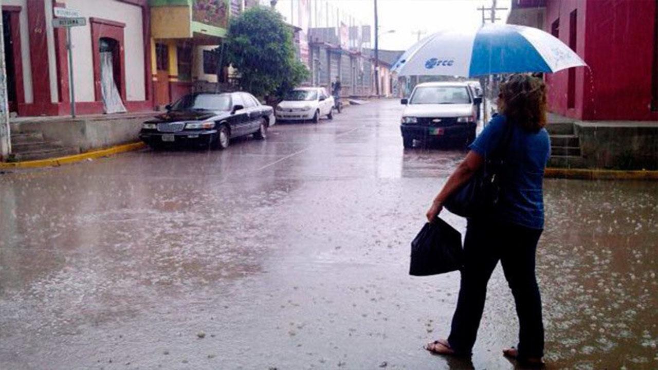 Continúan las lluvias en la mayor parte del territorio nacional