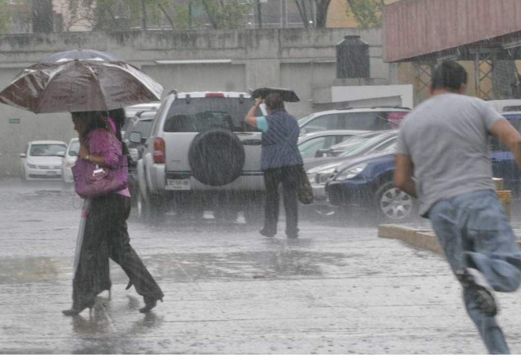 Lluvias se esperan en la mayor parte del territorio nacional