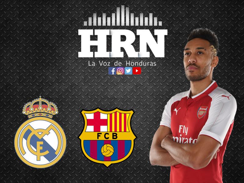 El Madrid se disputará el fichaje de Aubameyang con el Barcelona
