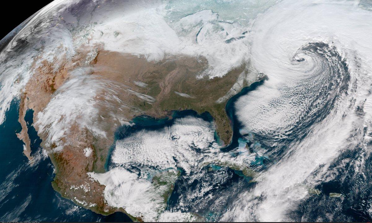"""Lo que trae consigo el """"Ciclón Bomba"""", que afectará EE.UU"""