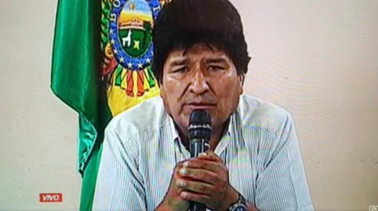 El presidente Evo Morales renunció para evitar que la violencia opositora siga dejando víctimas en Bolivia