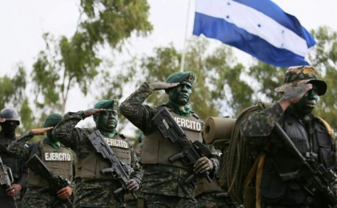 Fuerzas Armadas Honduras.