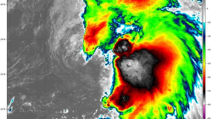 Tormenta tropical Sebastián puede llegar a huracán esta noche a costas venezolanas