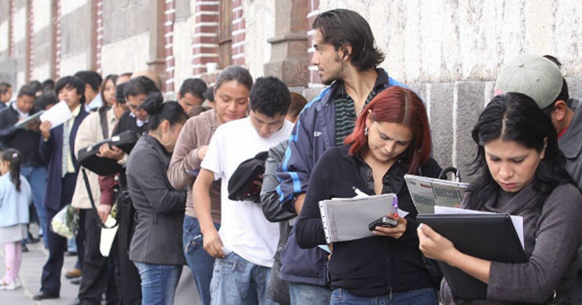 Jóvenes desempleados en Honduras