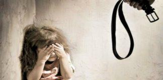 Menores sufren maltrato infantil.