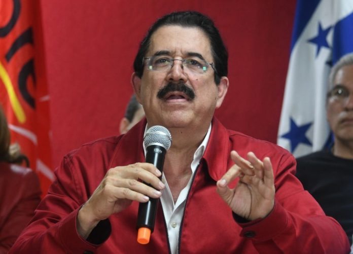Coordinador de Libre Manuel Zelaya Rosales.