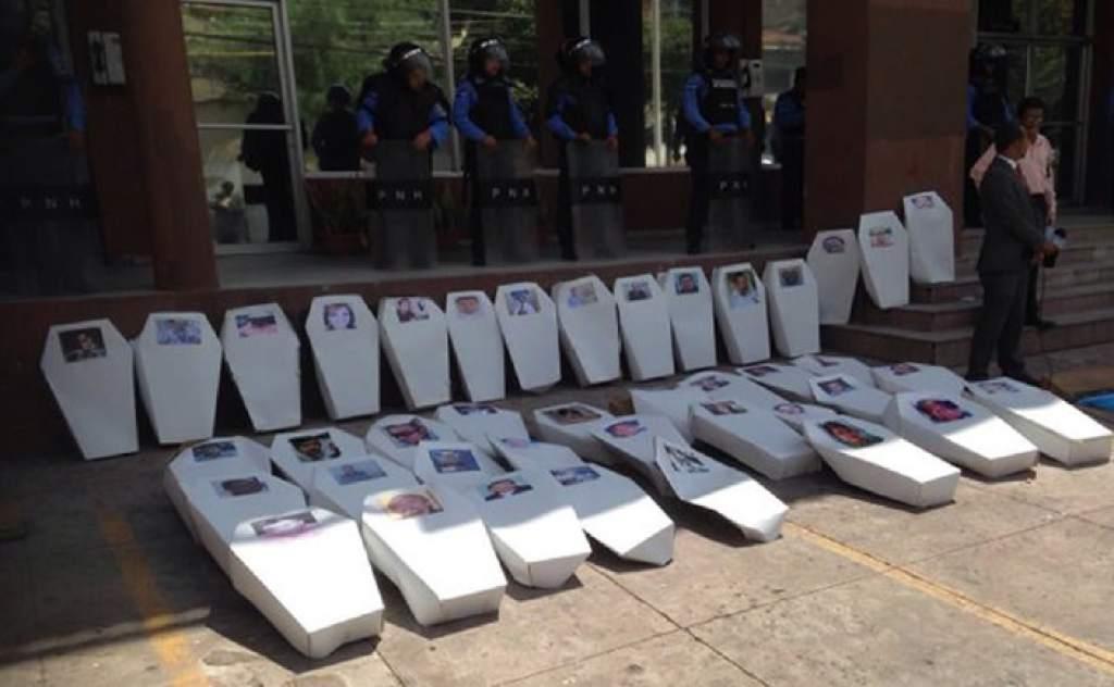 ¡Año negro! Ocho periodistas han sido asesinados en Honduras