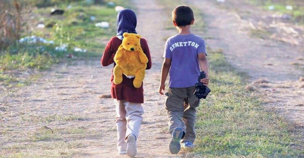 Migración infantil.