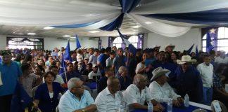 Fiesta azul en Choluteca.